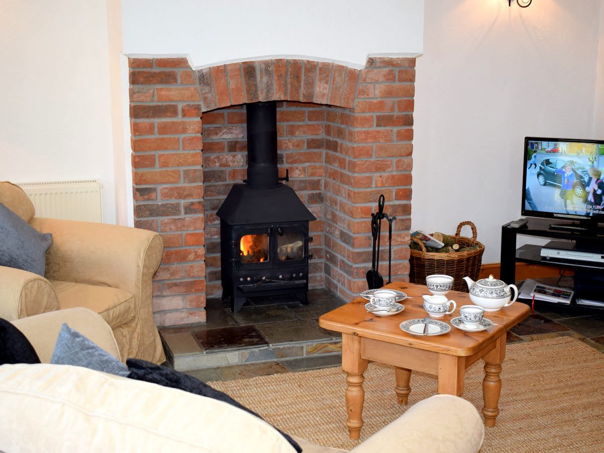 The Lounge Area in Vine. Vine is a beautiful one bedroom holiday cottage in North Devon